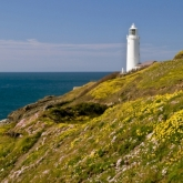 Trevose Head Lighthouse, Trevose Head, Padstow, North Cornwall