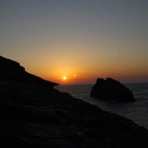 Boscastle sunset email